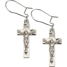 Crucifix<br>E0001D - 7/8 x 3/8<br>Earring