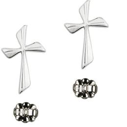 Cross<br>E0016YP - 3/4 x 3/8<br>Earring