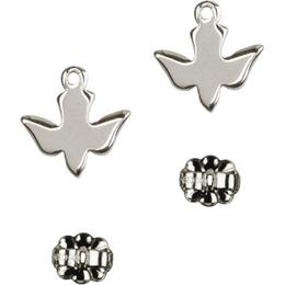 Holy Spirit<br>E0225P - 3/8 x 3/8<br>Earring