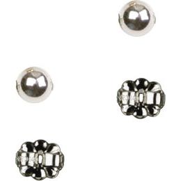 Ball Post Earring<br>E0230P - 1/4 x 1/4<br>Earring
