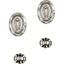 Miraculous<br>E0301MP - 1/2 x 1/4<br>Earring