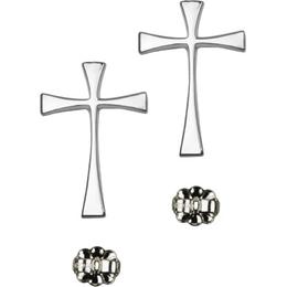 Maltese Cross<br>E1870P - 7/8 x 1/2<br>Earring