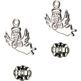 Guardian Angel<br>E2128P - 3/8 x 3/8<br>Earring