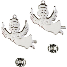 Angel<br>E2129P - 3/4 x 3/4<br>Earring