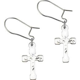 Cross<br>E2519D - 5/8 x 3/8<br>Earring
