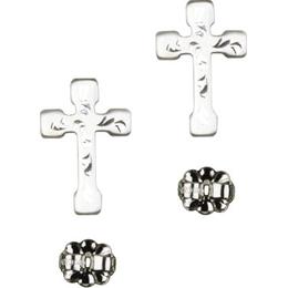 Cross<br>E2519P - 5/8 x 3/8<br>Earring
