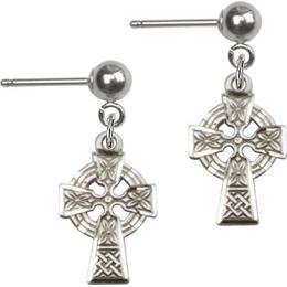 Celtic Cross<br>E4133BP - 1/2 x 3/8<br>Earring