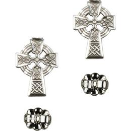 Celtic Cross<br>E4133P - 1/2 x 3/8<br>Earring