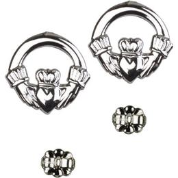 Claddagh<br>E4138P - 5/8 x 1/2<br>Earring