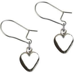 Heart Charm<br>E4158HD - 1 1/8 x 1 5/8<br>Earring