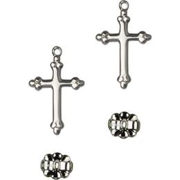 Cross<br>E5415P - 5/8 x 3/8<br>Earring