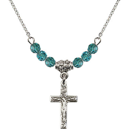 N01-0672 - Crucifix Bracelet<br>Available in 12 Colors
