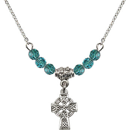 N01-4133 - Celtic Cross Bracelet<br>Available in 12 Colors