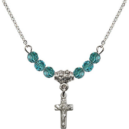 N01-4134 - Crucifix Bracelet<br>Available in 12 Colors