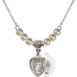 N02 / Faux Pearl Beads<br>0706M - Miraculous