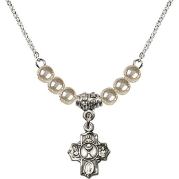 N02 / Faux Pearl Beads<br>0890 - Communion 5-Way