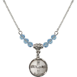 N20 Birthstone Necklace<br>Baptism<br>Available in 15 Colors