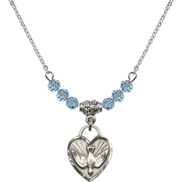 N20 Birthstone Necklace<br>Confirmation Heart<br>Available in 15 Colors