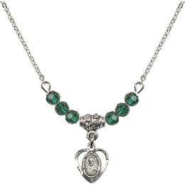 N20 Birthstone Necklace<br>Scapular<br>Available in 15 Colors