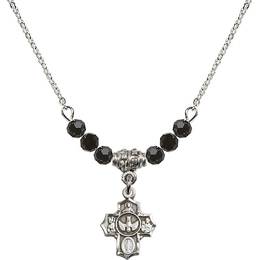 N20 Birthstone Necklace<br>5-Way<br>Available in 15 Colors