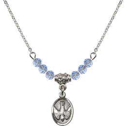 N20 Birthstone Necklace<br>Holy Spirit<br>Available in 15 Colors