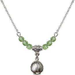N20 Birthstone Necklace<br>Shell<br>Available in 15 Colors