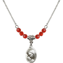N20 Birthstone Necklace<br>Madonna & Child<br>Available in 15 Colors