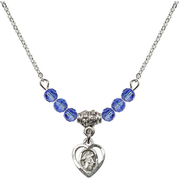 N20 Birthstone Necklace<br>Guardian Angel<br>Available in 15 Colors