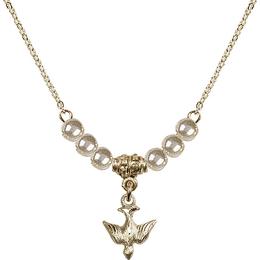 N21 Birthstone Necklace<br>Holy Spirit