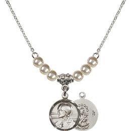 N21 Birthstone Necklace<br>Scapular