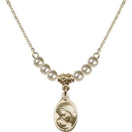 N21 Birthstone Necklace<br>Madonna & Child