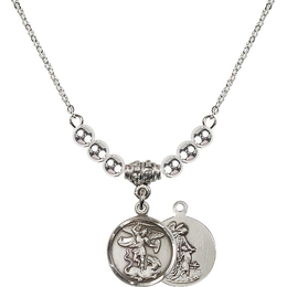 N22 Birthstone Necklace<br>St. Michael the Archangel