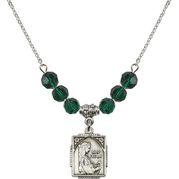 N30 Birthstone Necklace<br>St. Cecilia<br>Available in 15 Colors