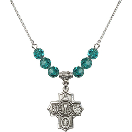 N30 Birthstone Necklace<br>Communion/5-Way<br>Available in 15 Colors