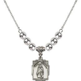 N32 Birthstone Necklace<br>St. Peregrine