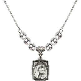 N32 Birthstone Necklace<br>St. Teresa of Calcutta