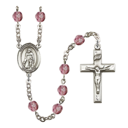 R6000 Series Rosary<br>St. Peregrine Laziosi<br>Available in 12 Colors
