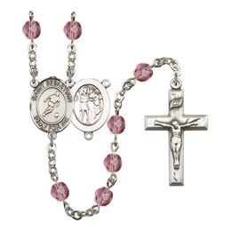 R6000 Series Rosary<br>St. Sebastian/Soccer<br>Available in 12 Colors
