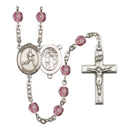 R6000 Series Rosary<br>St. Sebastian/Track & Field<br>Available in 12 Colors