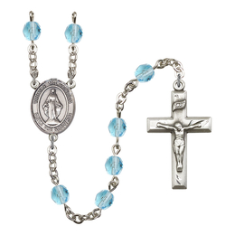 R6000 Series Rosary<br>Virgen Milagrosa<br>Available in 12 Colors
