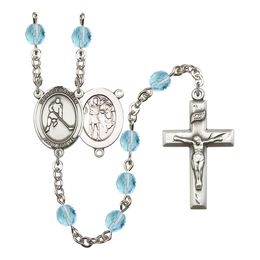 R6000 Series Rosary<br>St. Sebastian/Ice Hockey<br>Available in 12 Colors