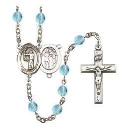 R6000 Series Rosary<br>St. Sebastian / Archery<br>Available in 12 Colors