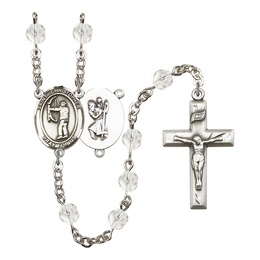 R6000 Series Rosary<br>St. Christopher/Archery<br>Available in 12 Colors