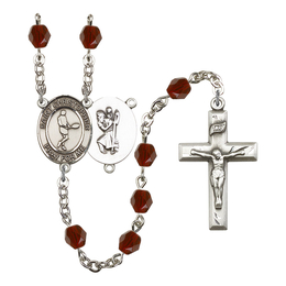 R6000 Series Rosary<br>St. Christopher/Tennis<br>Available in 12 Colors