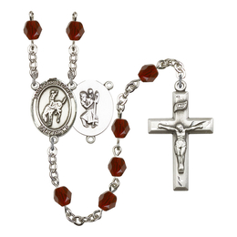 R6000 Series Rosary<br>St. Christopher / Rodeo<br>Available in 12 Colors