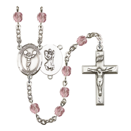 R6000 Series Rosary<br>St. Christopher/Cheerleading<br>Available in 12 Colors