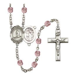 R6000 Series Rosary<br>St. Sebastian/Skiing<br>Available in 12 Colors