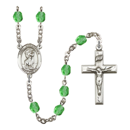 R6000 Series Rosary<br>St. Christopher<br>Available in 12 Colors