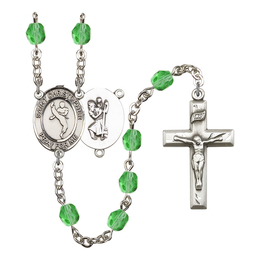 R6000 Series Rosary<br>St. Christopher/Martial Arts<br>Available in 12 Colors
