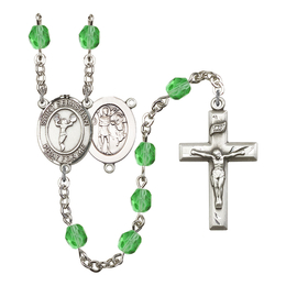 R6000 Series Rosary<br>St. Sebastian/Cheerleading<br>Available in 12 Colors